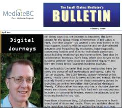 Newsletter Writing MediateBC CMP 1 Leah Ranada
